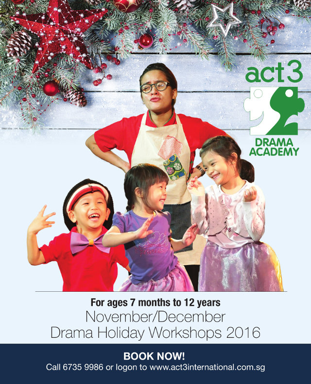 act 3 international drama holiday work