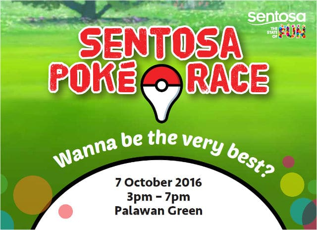 children day sentosa poke race
