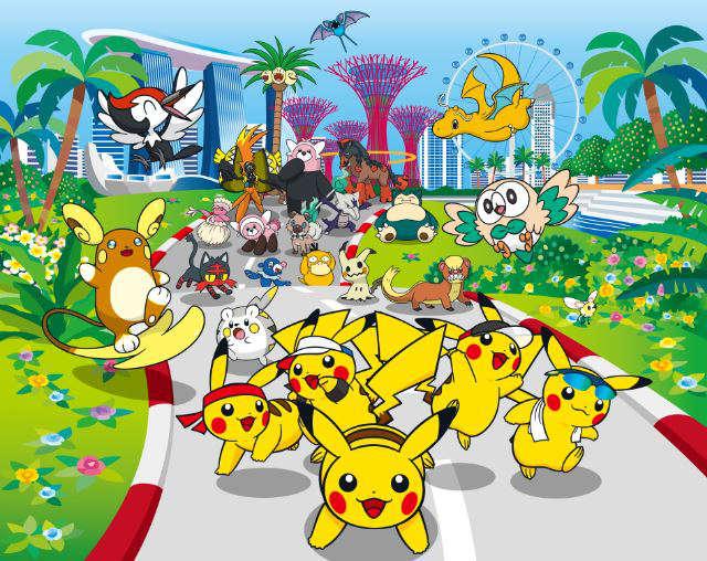 pokemon run singapore 2017