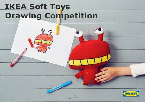 ikea-soft-toys-drawing-competition