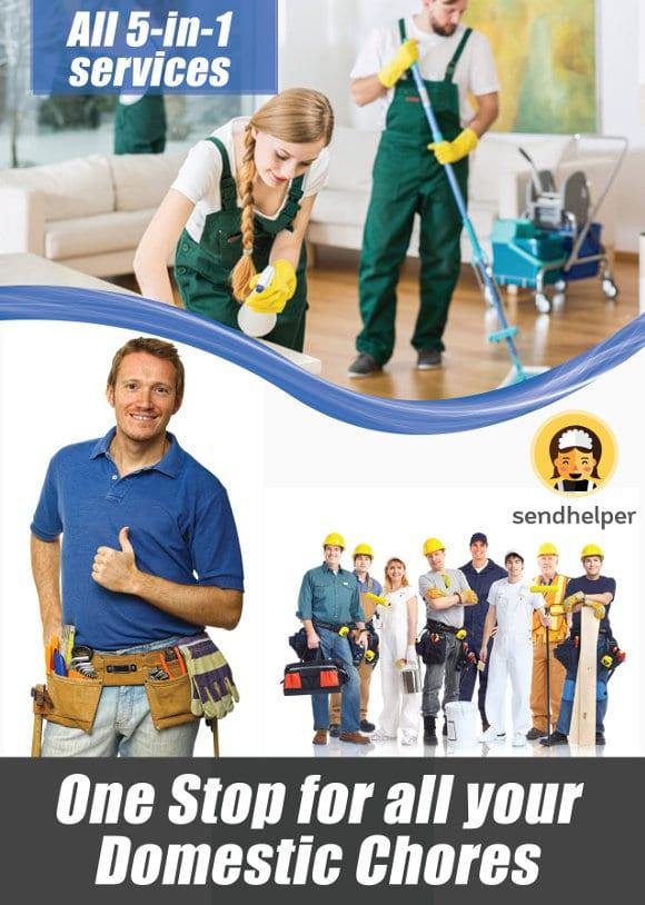 sendhelper all 5 in 1 services