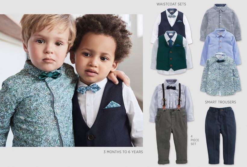 Where to buy suit for boys NEXT