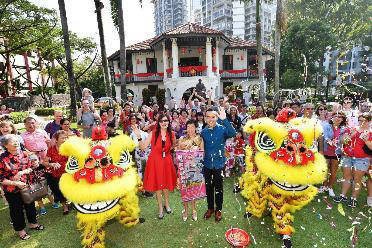 Auspicious Lion Dance Performance Wan Qing