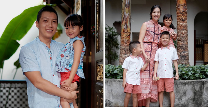 Matching Clothes for the family The Missing Piece
