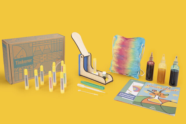 Tinkerer Box Coloured Science Experiments for Children