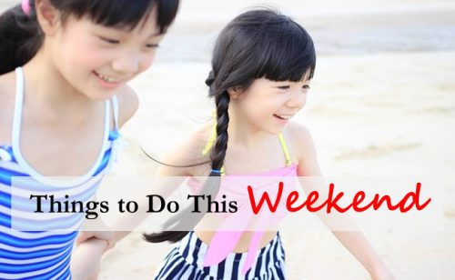 things to do over the weekend