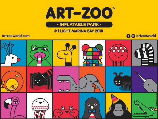 Art-Zoo Inflatable Park @ I Light Marina Bay 2018