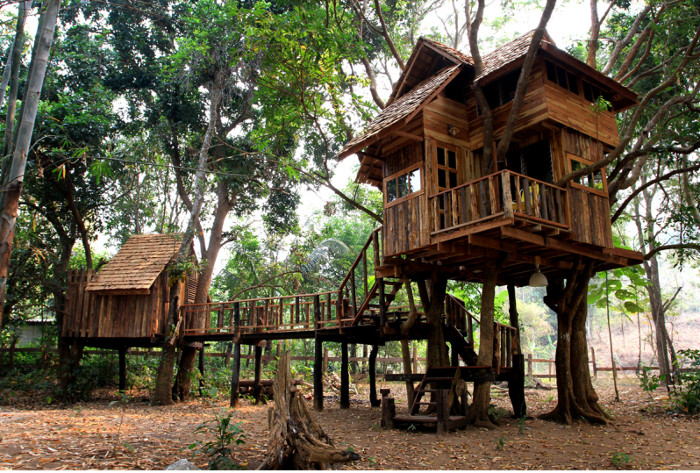 Unique Vacation Experiences For Kids Rabeang Pasak Treehouse Resort