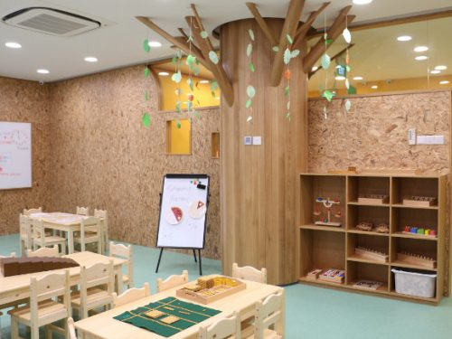 mahota preschool interior