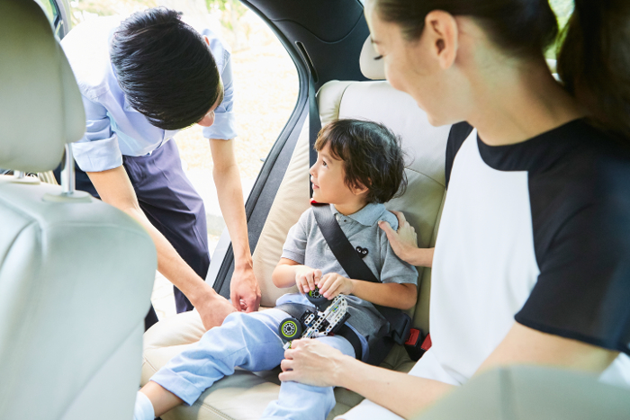 GrabCar Singapore Offers Child-Friendly Rides
