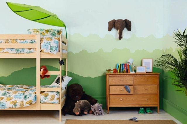 Top 5 Colours To Use For Your Children's Room Green