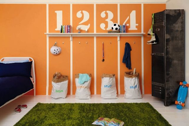 Top 5 Colours To Use For Your Children's Room - Orange