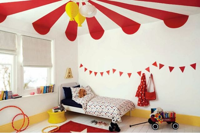 Top 5 Colours To Use For Your Children's Room - Red