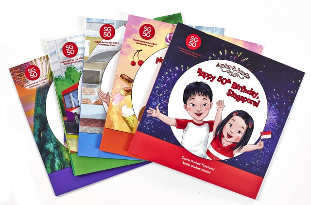 Children Books About Singapore Jayden and Janelle