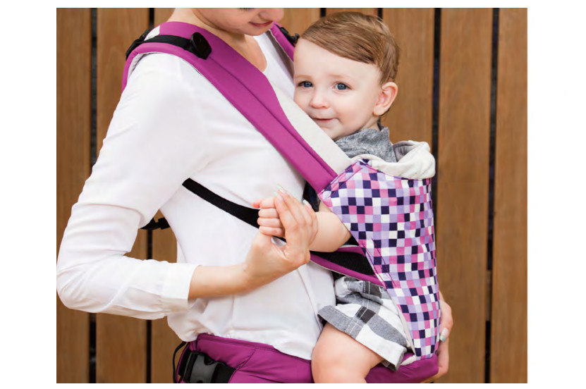 Combi Foldable Hip Carrier for babies and toddlers