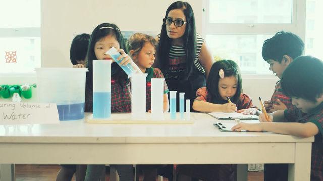 EtonHouse Inquire based learning classroom