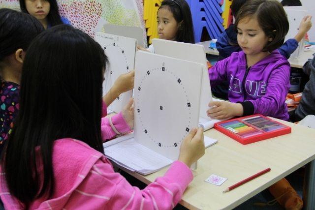 Right brain training Primary School children Heguru