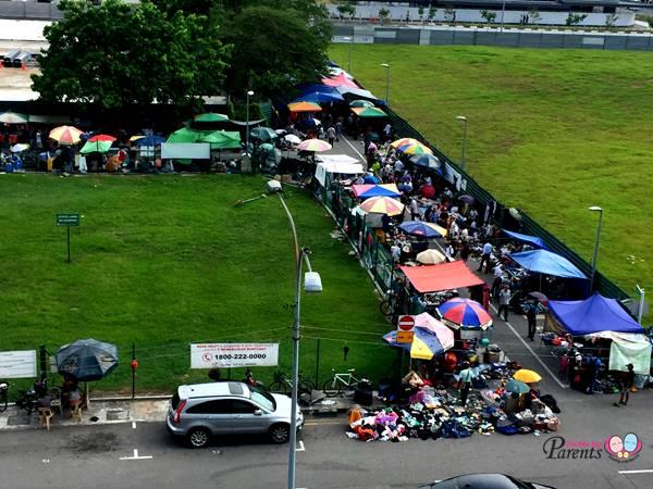 sungei road thieves market view