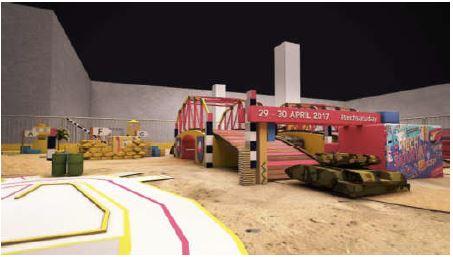 tech saturday rc tank arena
