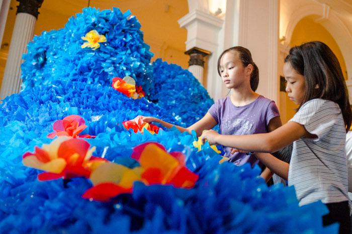 Art exhibitions for kids Gallery Children's Biennale 2017