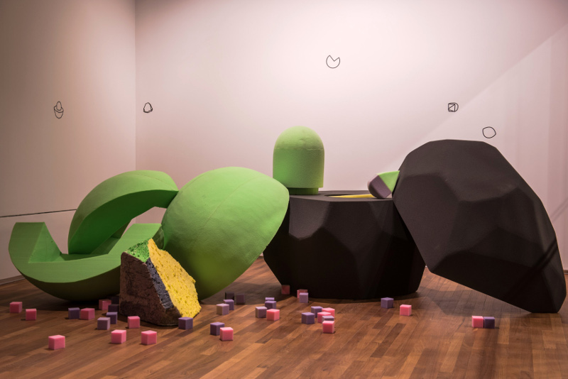 Gallery Children's Biennale Ian Woo Rock & Sphere