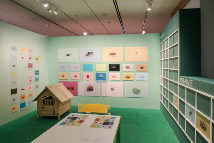 Gallery Children's Biennale Robert Zhao A Guide to the Flora and Fauna of the World, Children's Edition