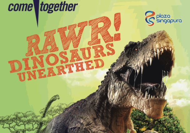 June holiday RAWR! Dinosaurs Unearthed
