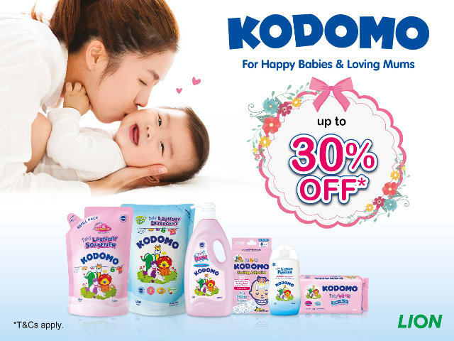 Kodomo may 2017 promotions