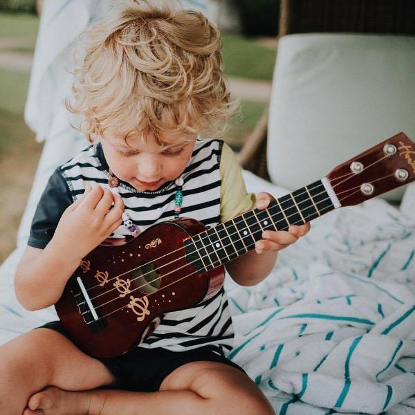 Lia's son Quentin