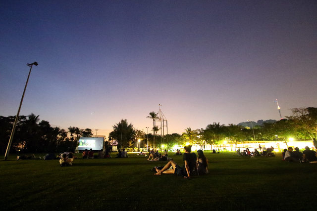 Movies by the Beach at Sentosa june holidays