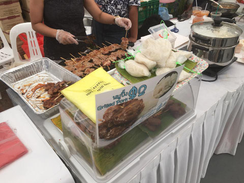 food at thai festival