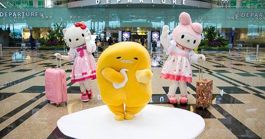 sanrio characters changi airport