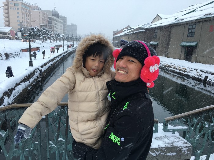 Interview with Single Father Eric Kwek - Holiday in Hokkaido