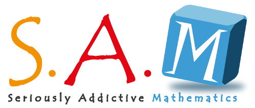 Seriously Addictive Mathematics updated logo