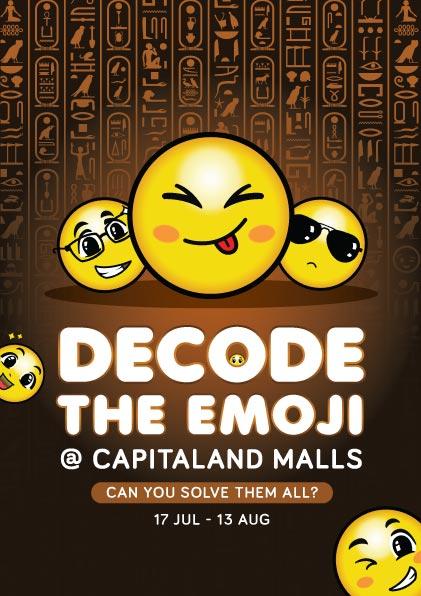Decode the Emoji capitamalls