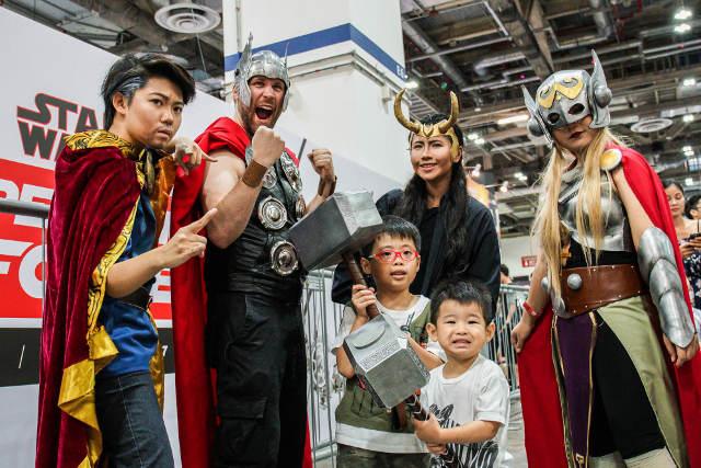 Singapore Toy, Game & Comic Convention STGCC