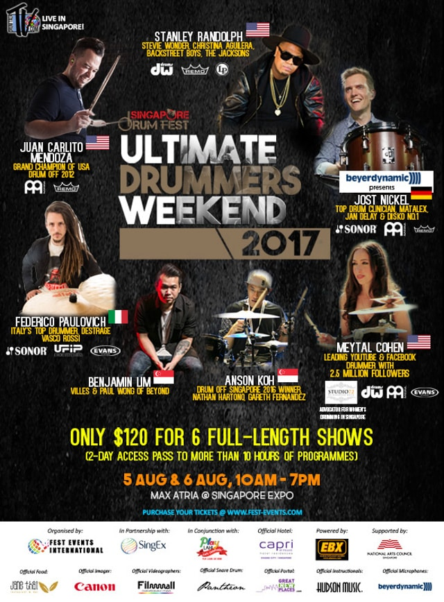 Ultimate drummers weekend 2017