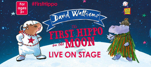 first hippo on the moon live on stage