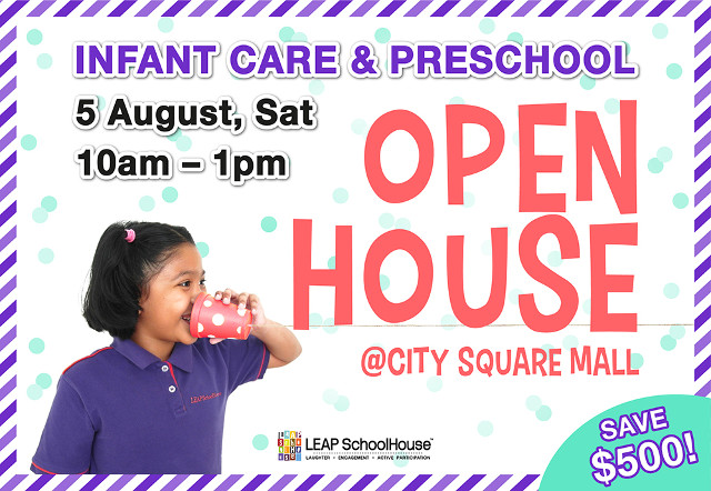 leap infant care open house