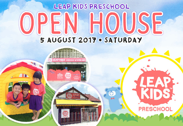 leap kids open house