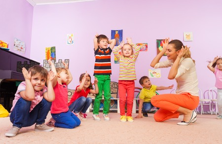 Many roles of a preschool teacher