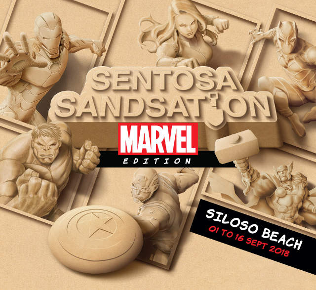 Marvel Super Heroes Sentosa Sandsation