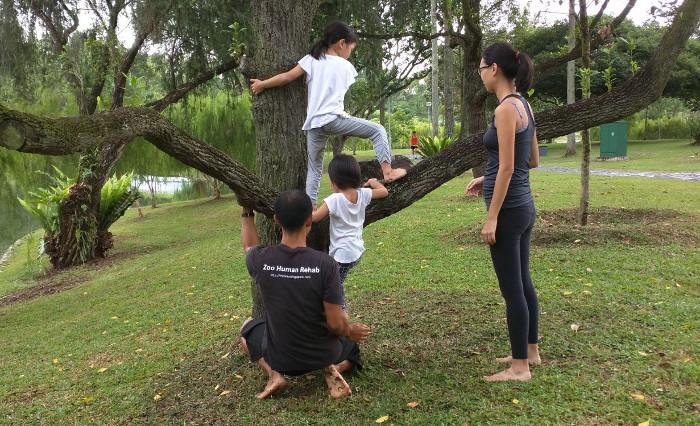 MovNat Kampung Kids classes