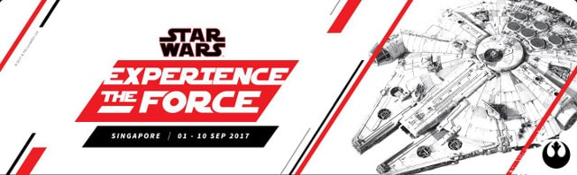 Star Wars Experience The Force Singapore Festival