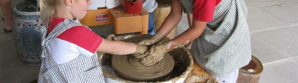 Thow Kwang Dragon Kiln Pottery Workshop for kids
