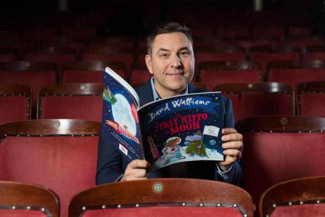 interview with David Walliams