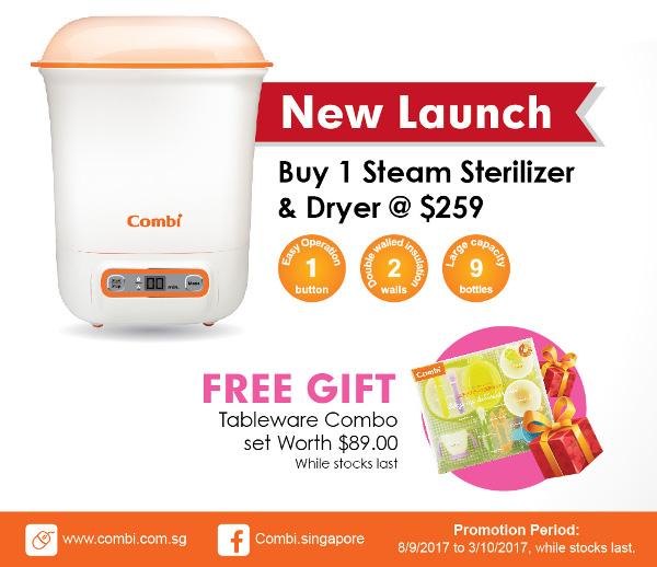 Combi Singapore steam sterilizer promotion