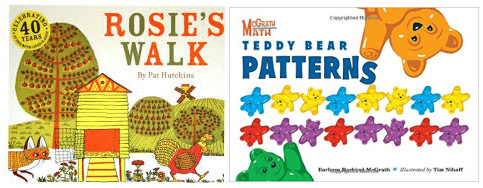 Math books on patterns for kids
