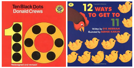 Math counting books for kids
