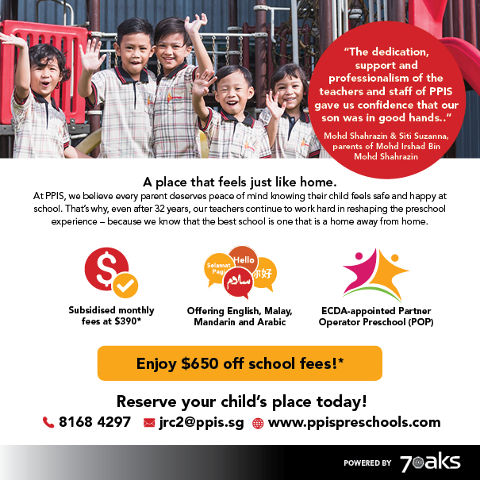 PPIS Jurong West Promotion